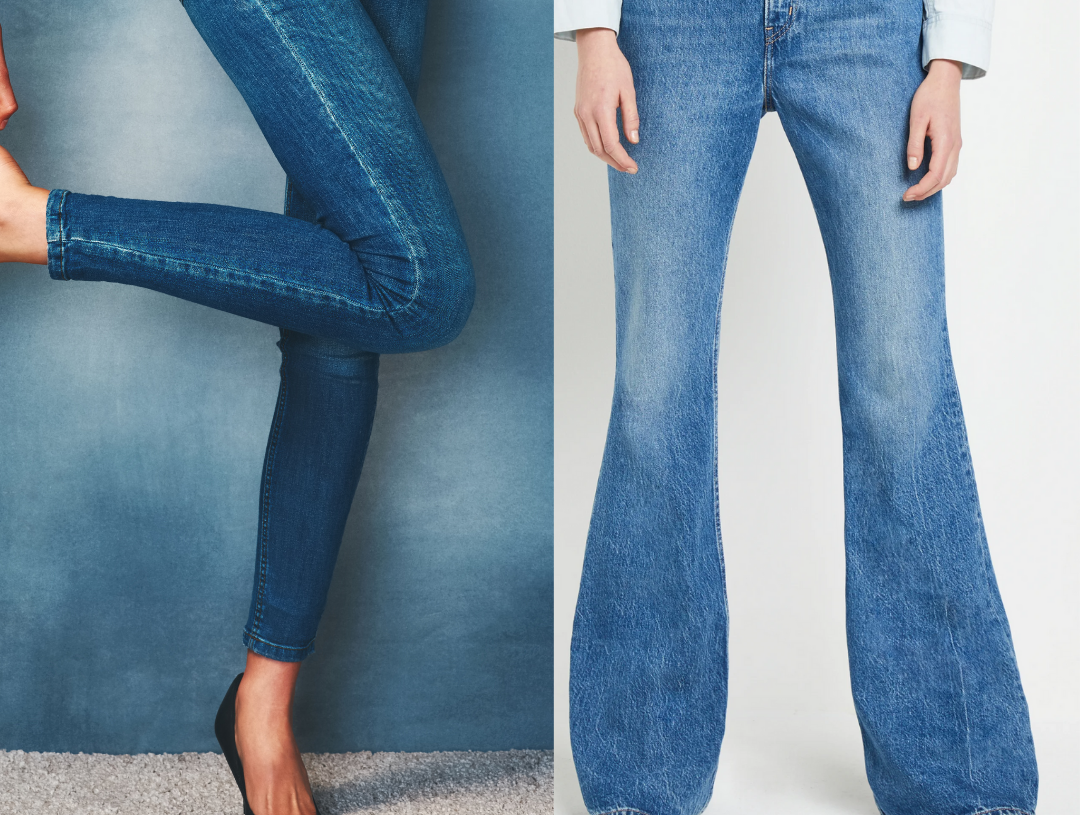 Skinny vs. Flared Jeans — Which Is Better?